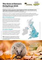 State of Britains Hedgehogs